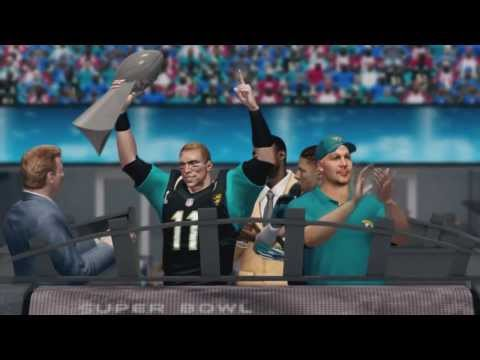 Madden NFL 25 - Jacksonville Jaguars Super Bowl Video Intro & Celebration