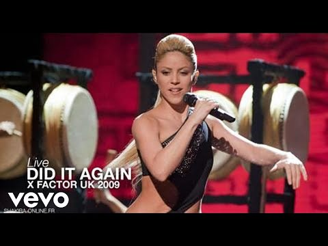 Shakira ~ Did It Again [Live @ X Factor 2009] HD