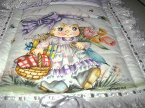 Pintura em tecido infantil youtube - Pintura infantil pared ...