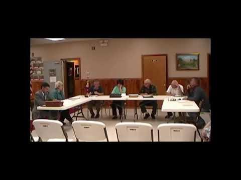 Altona Town Board Meeting 9-10-12