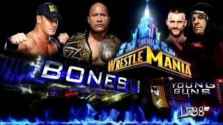 "WWE:Wrestlemania 29 Theme Song:""Bones"" (iTunes Release"
