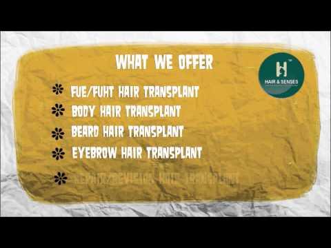 Hair Transplant in Delhi - Hair & Senses