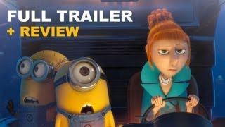 Despicable Me 2 Official Trailer 3 + Trailer Review