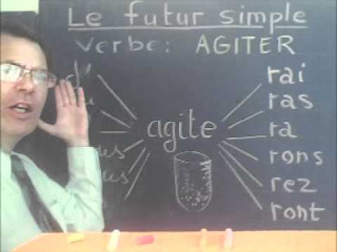 The future tense and to learn French conjugation