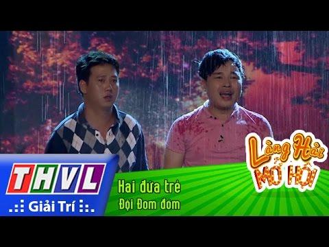 THVL | Làng hài mở hội - Tập 12: Hai đứa trẻ - Đội Đom đóm