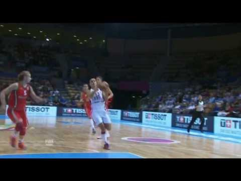 Play of the Game M. Dabovic SRB v BLR