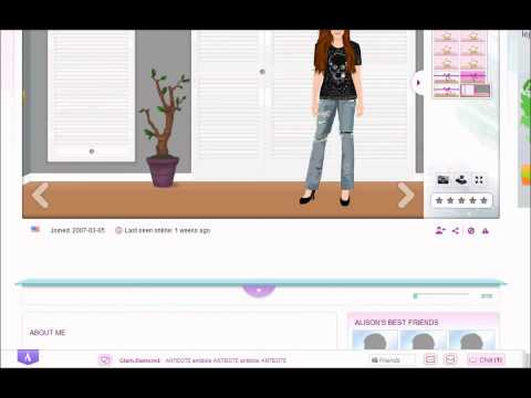 Stardoll Academy Walkthrough Task 9: Be Yourself