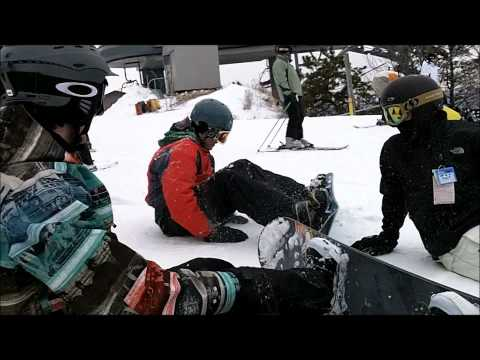 snowboarding at camelback in poconos