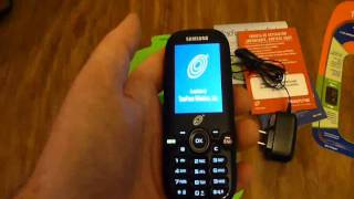 Unboxing And Loading The Tracfone Samsung T404G Triple