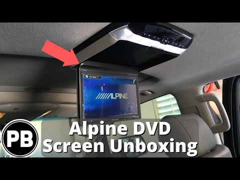 alpine overhead dvd player manual