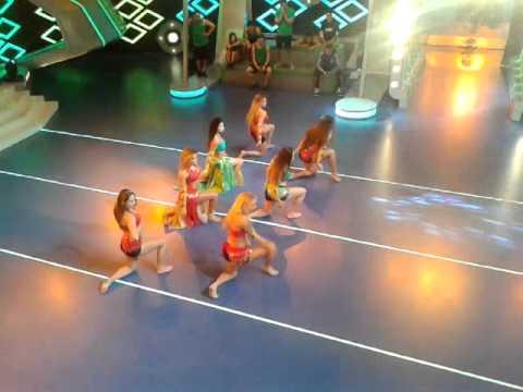 Baile Arabe de las Chicas de Combate 01-10-14