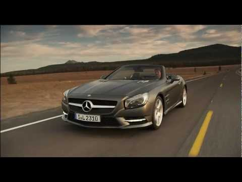 All new Mercedes-Benz SL-Class 2012 Trailer