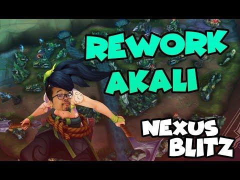 Le rework d'Akali sur le nouveau mode de LoL : Nexus Blitz Gameplay