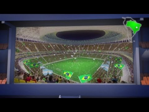 Football World Cup: Estadio Mane Garrincha