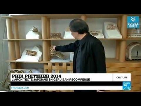 Prix Pritzker 2014, l'architecte humaniste Shigeru Ban récompensé - CHRONIQUE CULTURE