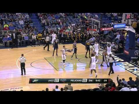 Utah Jazz vs New Orleans Pelicans | March 28, 2014 | NBA 2013-14 Season