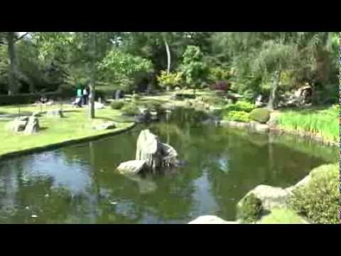 KYOTO GARDEN PANORAMA - HOLLAND PARK - LONDON - JULY 11, 2013