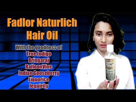 Fadlor Naturalich Exotic Herbal Infusions Hair Oil | Hair Fall | Sound Sleep | SahiJeeth