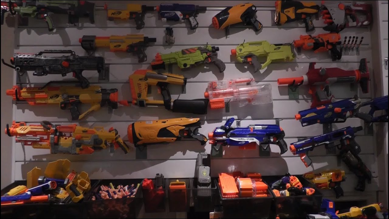 Nerf Gun Arsenal NERF Arsenal 2012 - Yo...