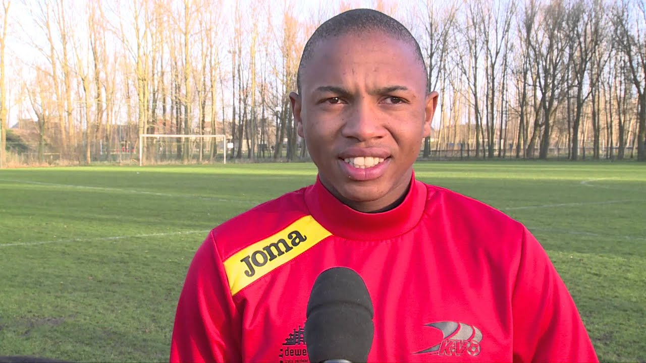 Andile Jali interview at KVO / KV Oostende - YouTube