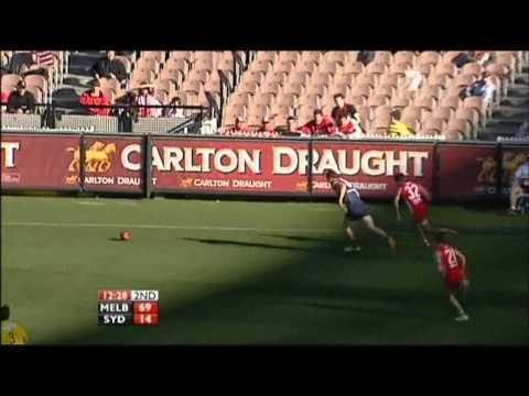 James Frawley's chase on Lewis Jetta (Round 17, 2010 vs Sydney)