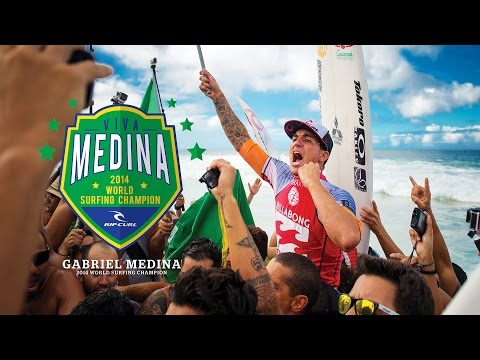 2014 World Surfing Champion - Gabriel Medina