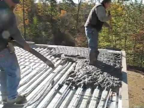Flat Roof Construction Detail