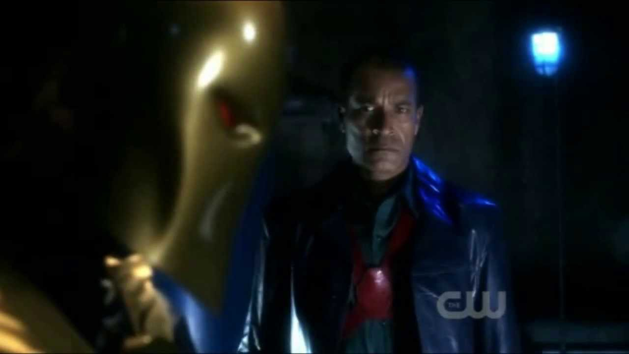 smallville dr fate saves the martian manhunter youtube