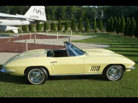 1967 corvette for sale sunfire yellow 327 350 posi pwr brake youtube. Cars Review. Best American Auto & Cars Review