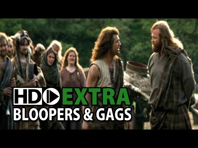 Braveheart (1995) Bloopers Outtakes Gag Reel