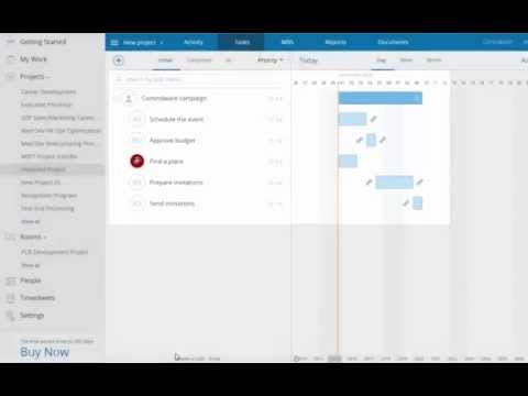 Creating a Project in Comindware Project