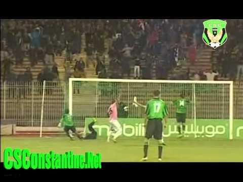 CSC 1 - USMBA 0: Coupe d'Algérie, le but de Voavy
