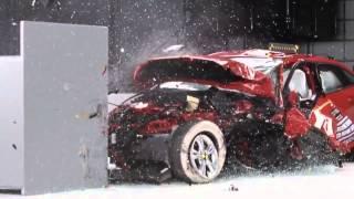 2014 Ford Focus 4 Door CRASH TEST IIHS Small Overlap
