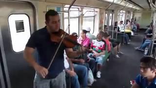 M�sica no metr� de BH - 21/10/2014