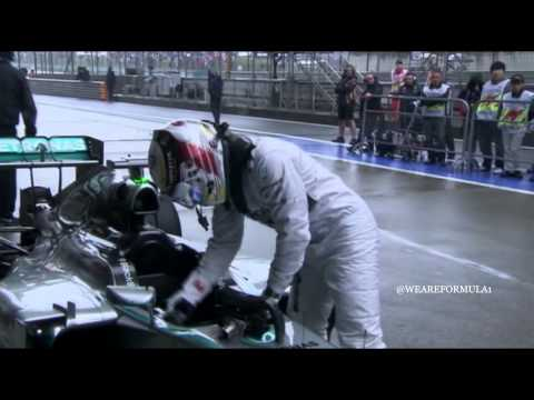 F1 2014 - Chinese GP - Q - Lewis Hamilton Pole Position