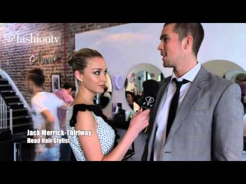 Neville Hair & Beauty Salon with Noelle Reno, London Olympics 2012   FashionTV