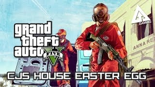GTA 5 Easter Eggs How To Find CJ's House/Grove Street
