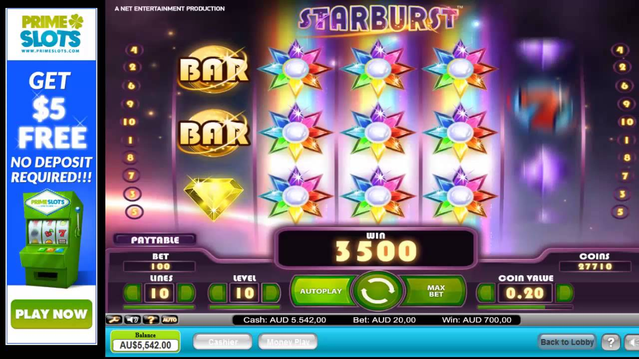starbust casino