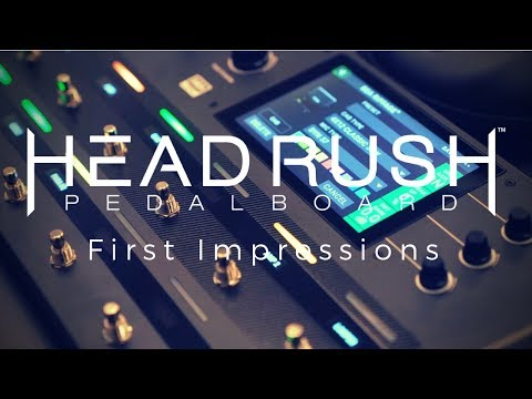 HeadRush Pedalboard Multi Effects Unit
