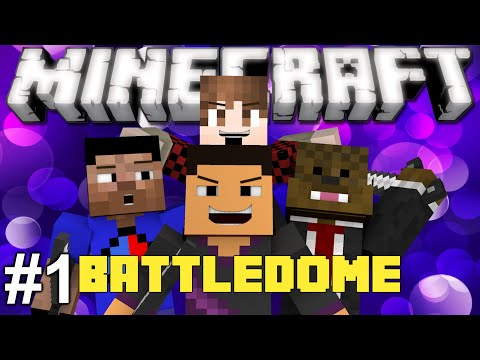 Minecraft: EPIC BATTLE DOME PART 1! w/ TheBajanCanadian, JeromeASF, and Vikkstar123HD