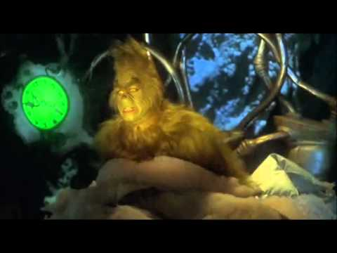 Scene from the jim carrey movie how the grinch stole christmas 2000