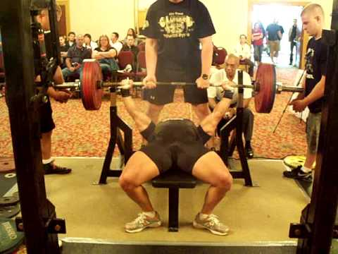 world record bench press without steroids