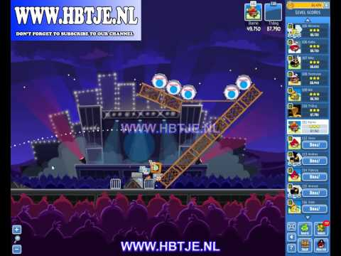 Angry Birds Friends Tournament Week 69 Level 4 high score 92k (tournament 4) Rock in Rio