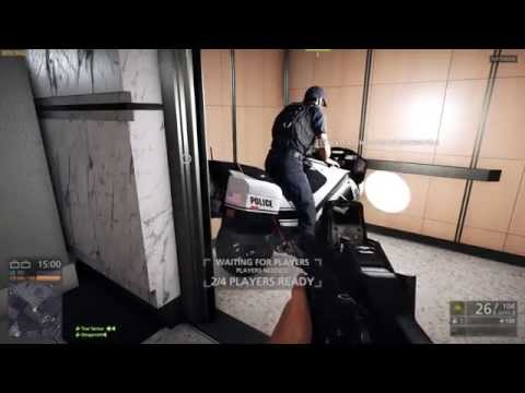 Cwown 151 - Battlefield Hardline - Me and Gar fight crime and cranes