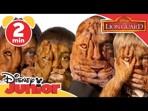 The Lion Guard | Incredible Family Portraits | Disney Junior UK