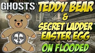 "Cod Ghosts ""TEDDY BEAR & INVISIBLE LADDER LOCATION"" On"