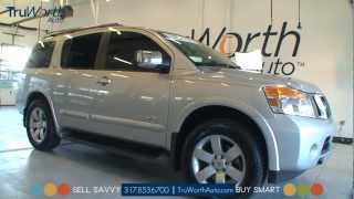 2008 Nissan Armada SE - Clean CARFAX - SIRIUS Backseat TV - TruWorth Auto