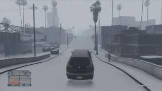 """GTA 5 Online """"Schnee Welt DLC GAMEPLAY + DNS"""" (Deutsch"""