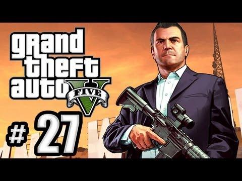 Grand Theft Auto 5 Gameplay Walkthrough Part 27 - Caida Libre