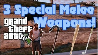 GTA 5: Special Melee Weapons Locations Baseball Bat